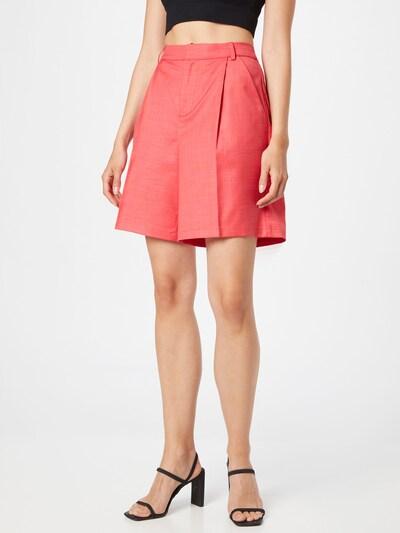 Résumé Nohavice s pukmi 'Elodie' - pastelovo červená, Model/-ka