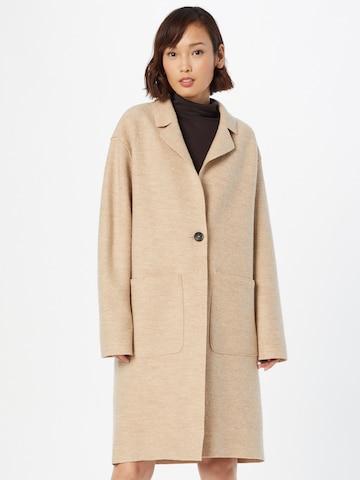 LANIUS Between-Seasons Coat in Beige