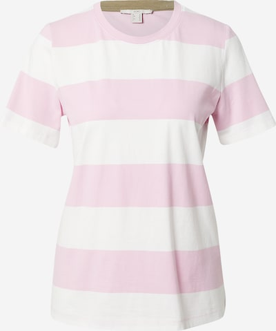 EDC BY ESPRIT Shirt in de kleur Lichtroze / Wit, Productweergave
