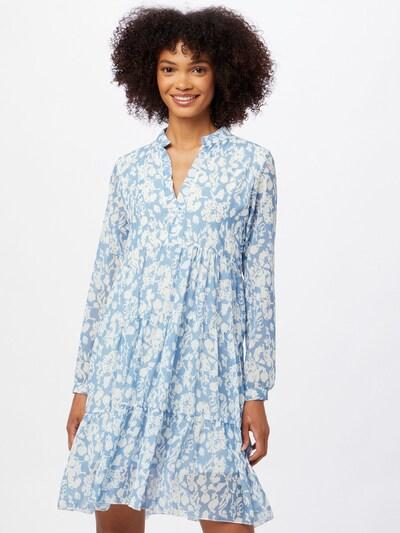 ZABAIONE Kleid 'Layla' in hellblau / weiß, Modelansicht