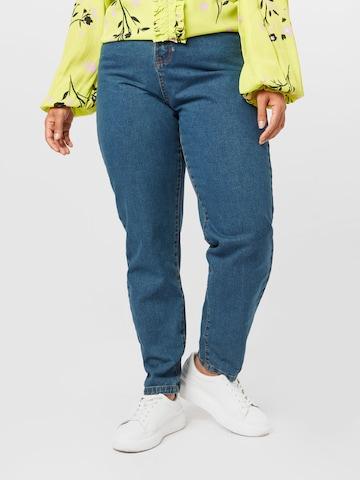 Missguided Plus Teksapüksid 'ELLA', värv sinine