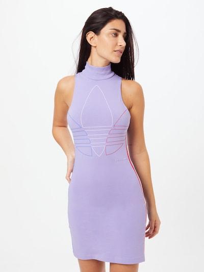 ADIDAS ORIGINALS Kleid in blau / helllila / rot / weiß, Modelansicht