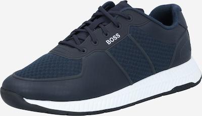 BOSS Zapatillas deportivas bajas 'Titanium' en azul oscuro, Vista del producto