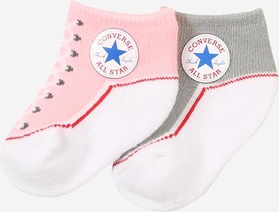 CONVERSE Socken 'CHUCK' in grau / pink / weiß, Produktansicht