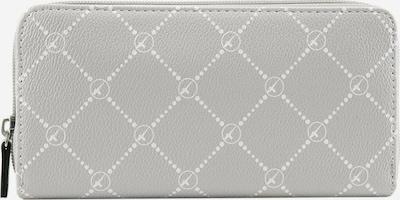 TAMARIS Portemonnee 'Anastasia' in de kleur Lichtgrijs / Wit, Productweergave