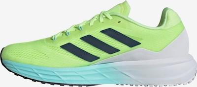 ADIDAS PERFORMANCE Chaussure de course 'SL20.2' en vert fluo, Vue avec produit