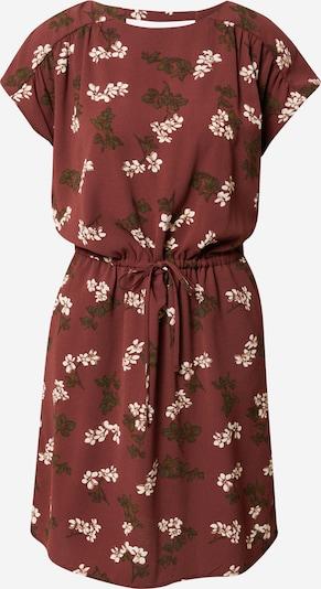 VERO MODA Robe d'été 'Sasha Bali' en marron / vert / blanc, Vue avec produit