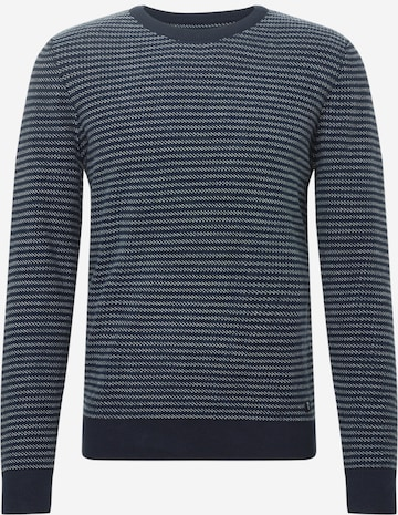TOM TAILOR DENIM Sweater in Blue