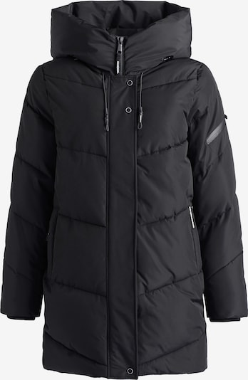 khujo Wintermantel ' JORDIS2 ' in de kleur Zwart, Productweergave