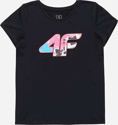 4F Funkčné tričko - námornícka modrá / svetlomodrá / ružová / biela, Produkt