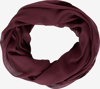 CECIL Tube Scarf in Burgundy, Item view