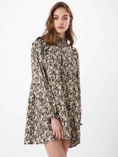 Envii Kleid in beige / schwarz, Modelansicht