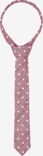 PIERRE CARDIN Cravate en rouge / blanc, Vue avec produit