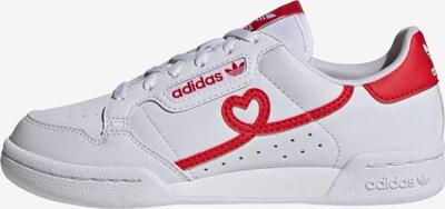 ADIDAS ORIGINALS Sneaker 'Continental 80' in rot / weiß, Produktansicht