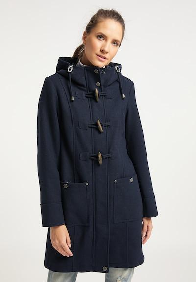 Palton de primăvară-toamnă DreiMaster Vintage pe navy, Vizualizare model