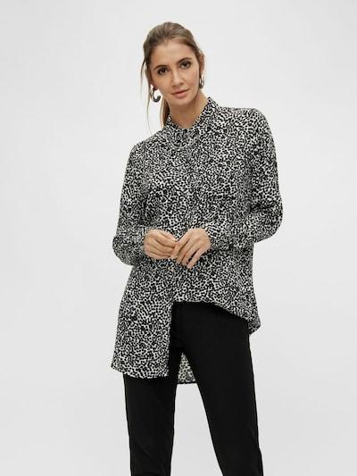 OBJECT Blus i svart / vit, På modell