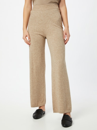 ONLY Trousers 'LELY' in mottled beige, View model