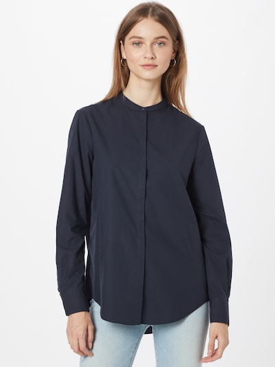BOSS Casual Bluse 'Befelize' in navy, Modelansicht