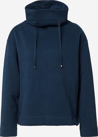 Cartoon Sweatshirt i blå