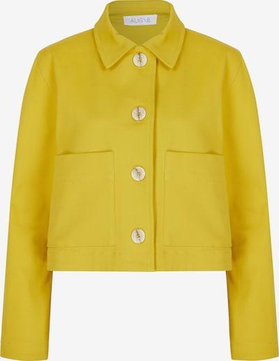 Aligne Jacke 'Camden' in gelb, Produktansicht