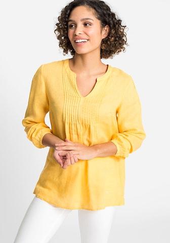 Olsen Blouse in Yellow