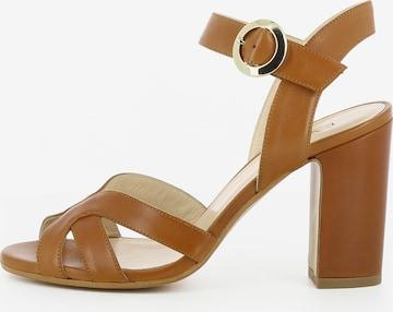 EVITA Damen Sandalette ISABEL in Braun