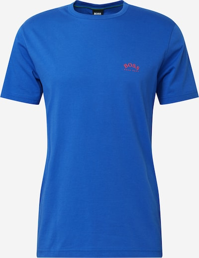 BOSS ATHLEISURE Majica 'Togn' u plava / crvena, Pregled proizvoda