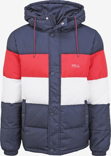 FILA Winterjacke 'PIRRO' in blau / rot / weiß, Produktansicht