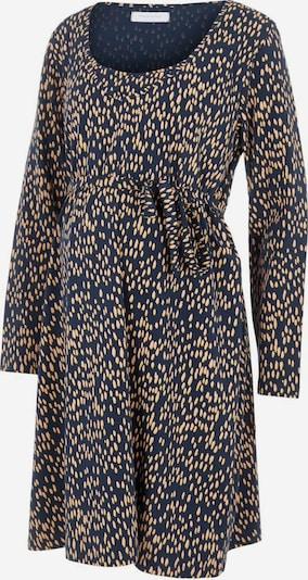 MAMALICIOUS Kleid in dunkelblau / gelb, Produktansicht