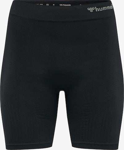 Hummel Shorts in grau / schwarz, Produktansicht