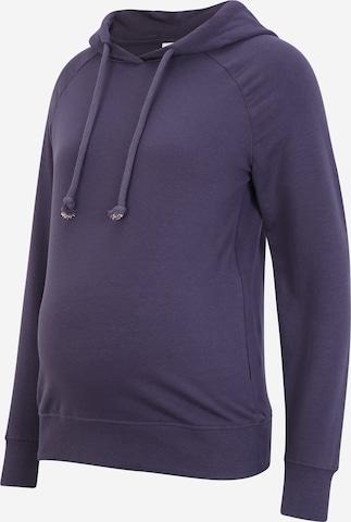 MAMALICIOUS Sweatshirt 'Fling' i lila