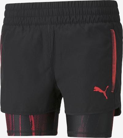 PUMA Sportbroek in de kleur Rood / Zwart, Productweergave