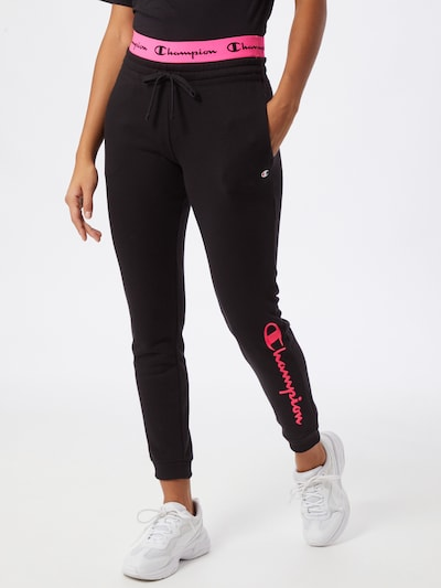Champion Authentic Athletic Apparel Hose 'American Classics' in pink / schwarz, Modelansicht