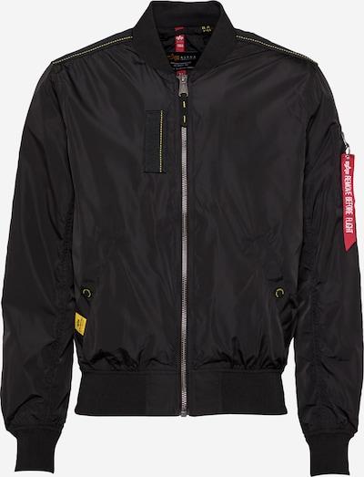 ALPHA INDUSTRIES Välikausitakki 'MA-1 Parachute' värissä keltainen / musta, Tuotenäkymä