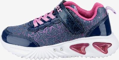 GEOX Sneaker 'Assister' in navy / hellpink, Produktansicht