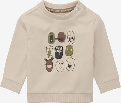 Noppies Sweatshirt ' Rimatara ' in de kleur Beige / Olijfgroen / Zwart, Productweergave