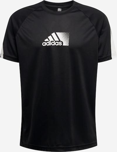 ADIDAS PERFORMANCE T-Shirt fonctionnel 'Seaso' en gris / noir / blanc, Vue avec produit