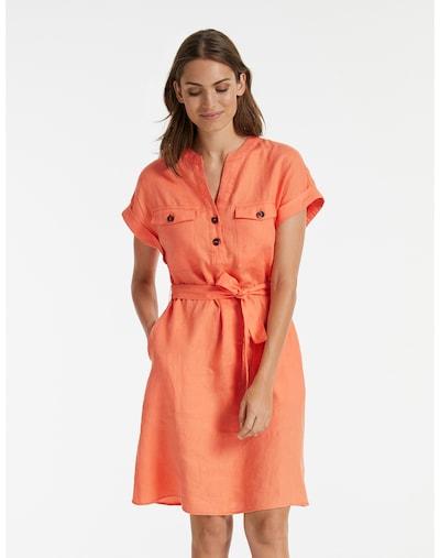 TAIFUN Kleid in orange, Modelansicht