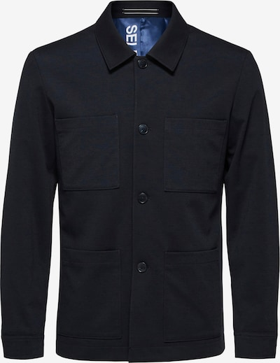 SELECTED HOMME Tussenjas 'Jim' in de kleur Navy, Productweergave