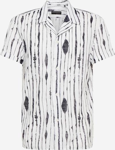 DRYKORN Overhemd 'BIJAN' in de kleur Zwart / Wit, Productweergave