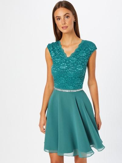 SWING Cocktail Dress in Jade, View model