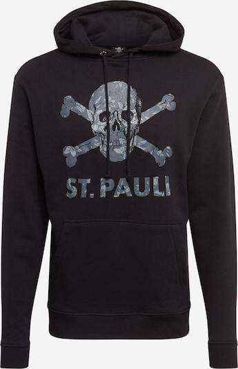 FC St. Pauli Camiseta deportiva en piedra / gris claro / negro, Vista del producto