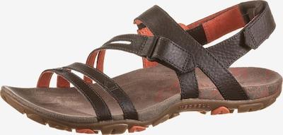 MERRELL Sandale 'SANDSPUR ROSE CONVERT' in braun / orange, Produktansicht