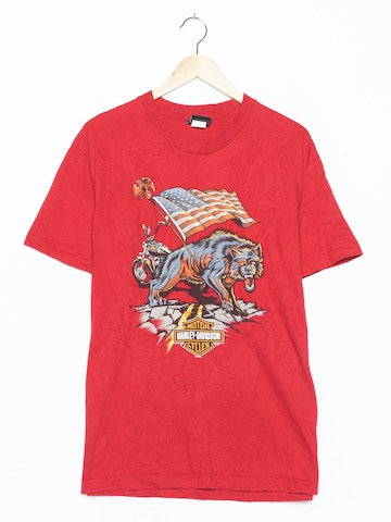 Harley Davidson Top & Shirt in M-L in Red