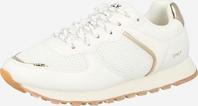 Sneaker low 'SAHEL' ONLY pe auriu / alb, Vizualizare produs