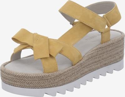 GERRY WEBER SHOES Sandale in gelb, Produktansicht