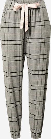 Pantaloni de pijama Hunkemöller pe gri / roz / negru, Vizualizare produs