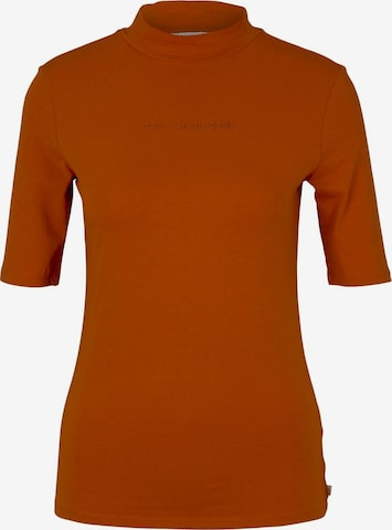 TOM TAILOR DENIM Shirt in Orange