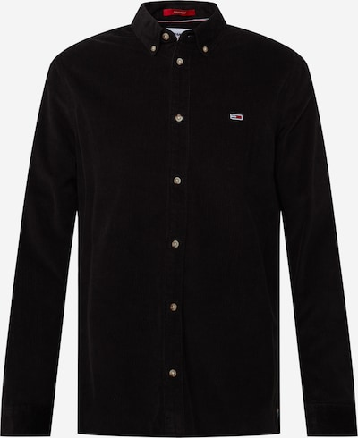 Tommy Jeans Hemd in marine / rot / schwarz / weiß, Produktansicht