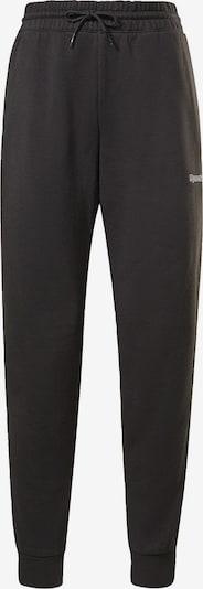REEBOK Jogginghose in schwarz / weiß, Produktansicht